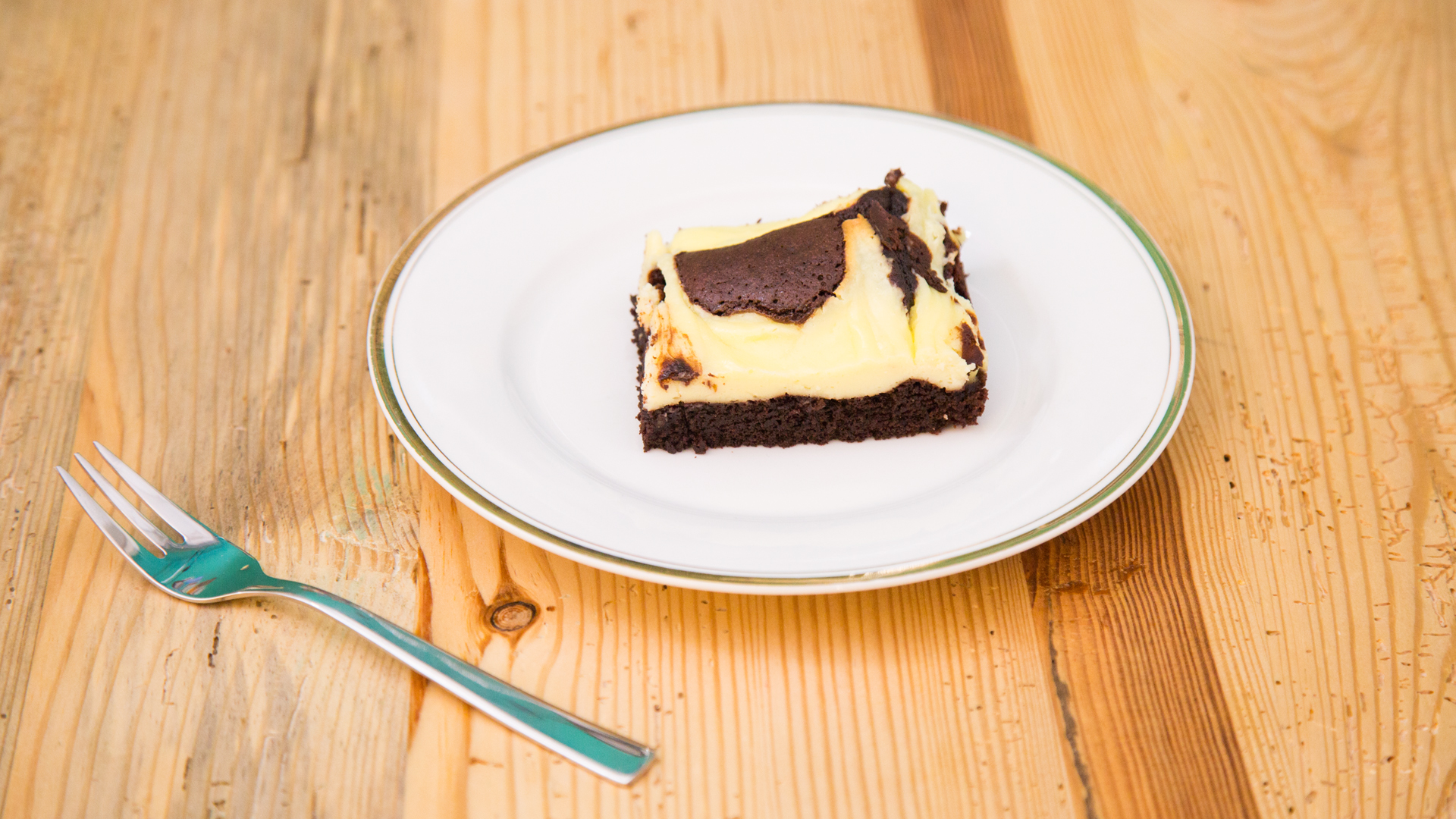 Brownies Mit Schokolade Cheesecake