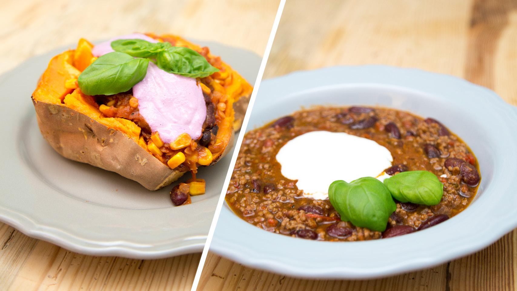 Chili Con Carne Rezept Mit Ohne Fleisch