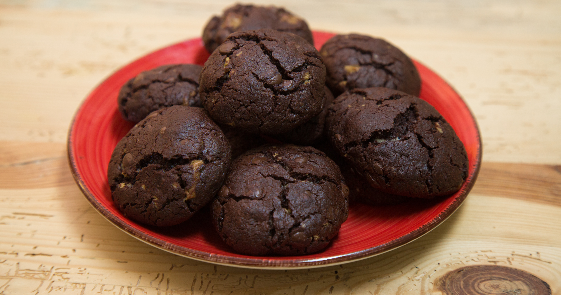triple chocolate american cookies. Black Bedroom Furniture Sets. Home Design Ideas