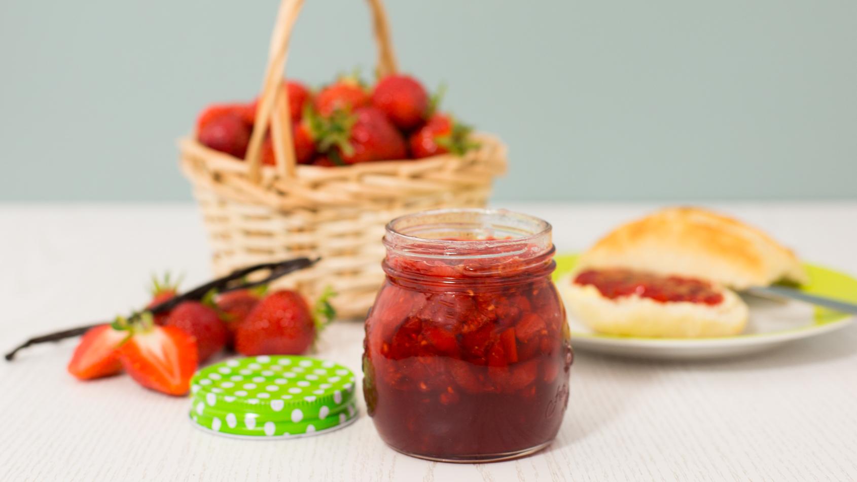 Erdbeermarmelade Ganz Einfach Selbermachen