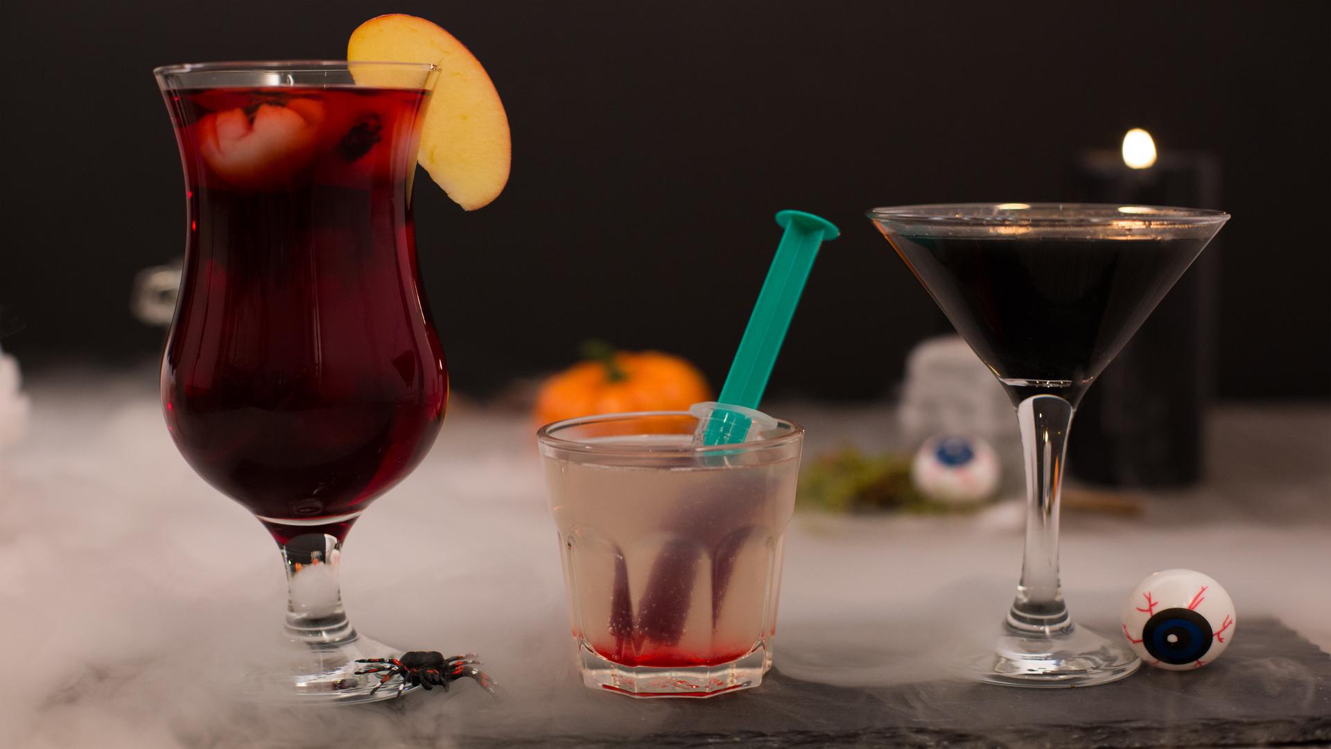 Halloween-Drinks: Rezepte für schaurig leckere Getränke