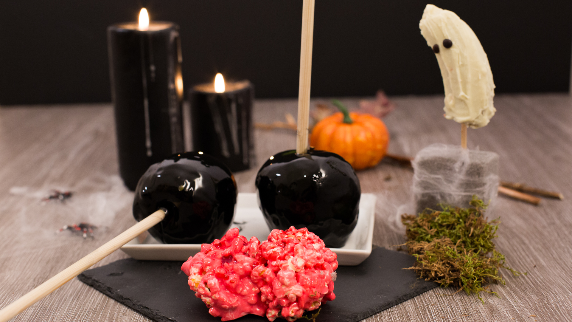 Gruselige Halloween-Snacks