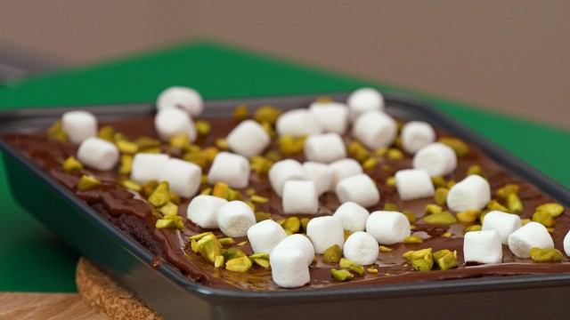 Marshmallow-Brownies