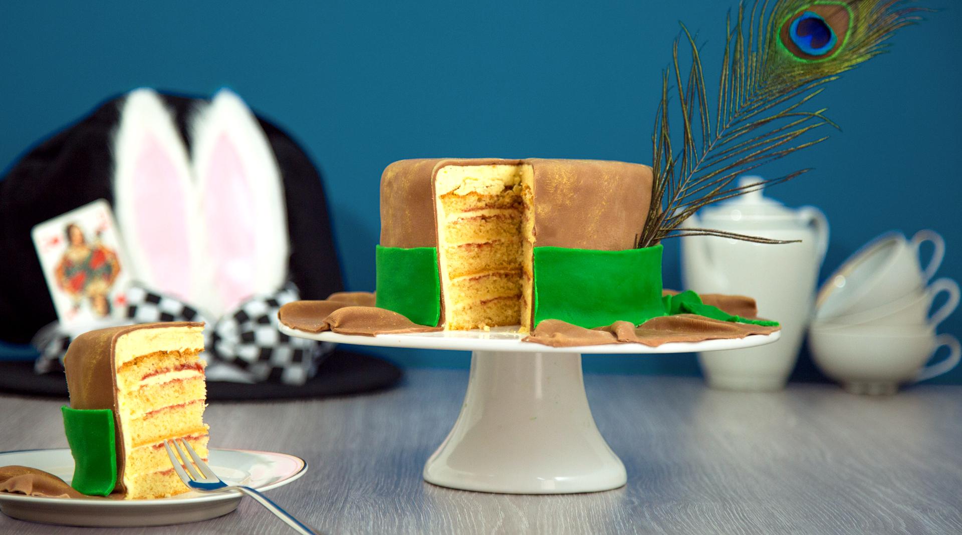 Fondant Torte Im Hut Design