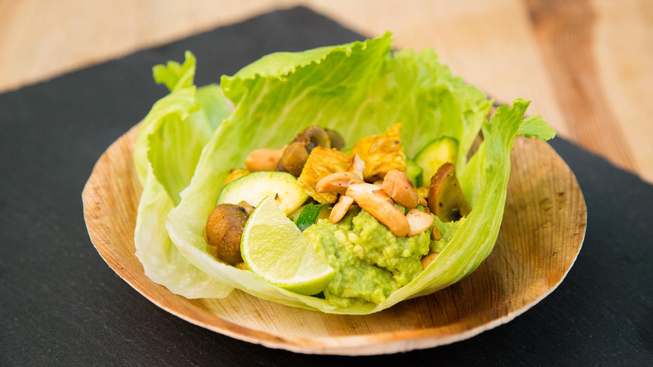 Paleo Rezept Salat Wraps Ganz Im Ernährungstend