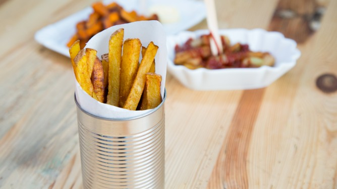 Pommes Frites selbstgemacht