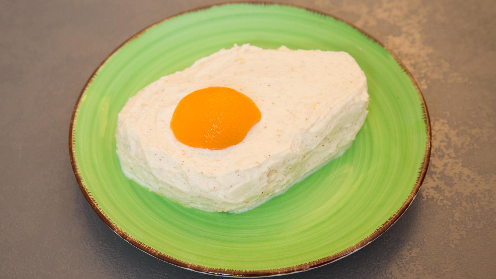Spiegelei Kuchen Ruhrkuchen In Spiegelei Form