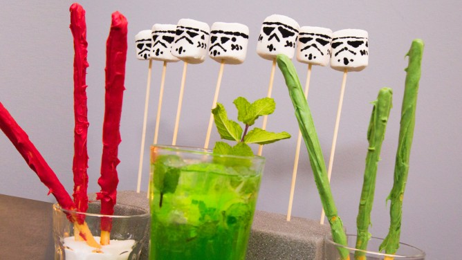 Star-Wars-Snacks als Fingerfood