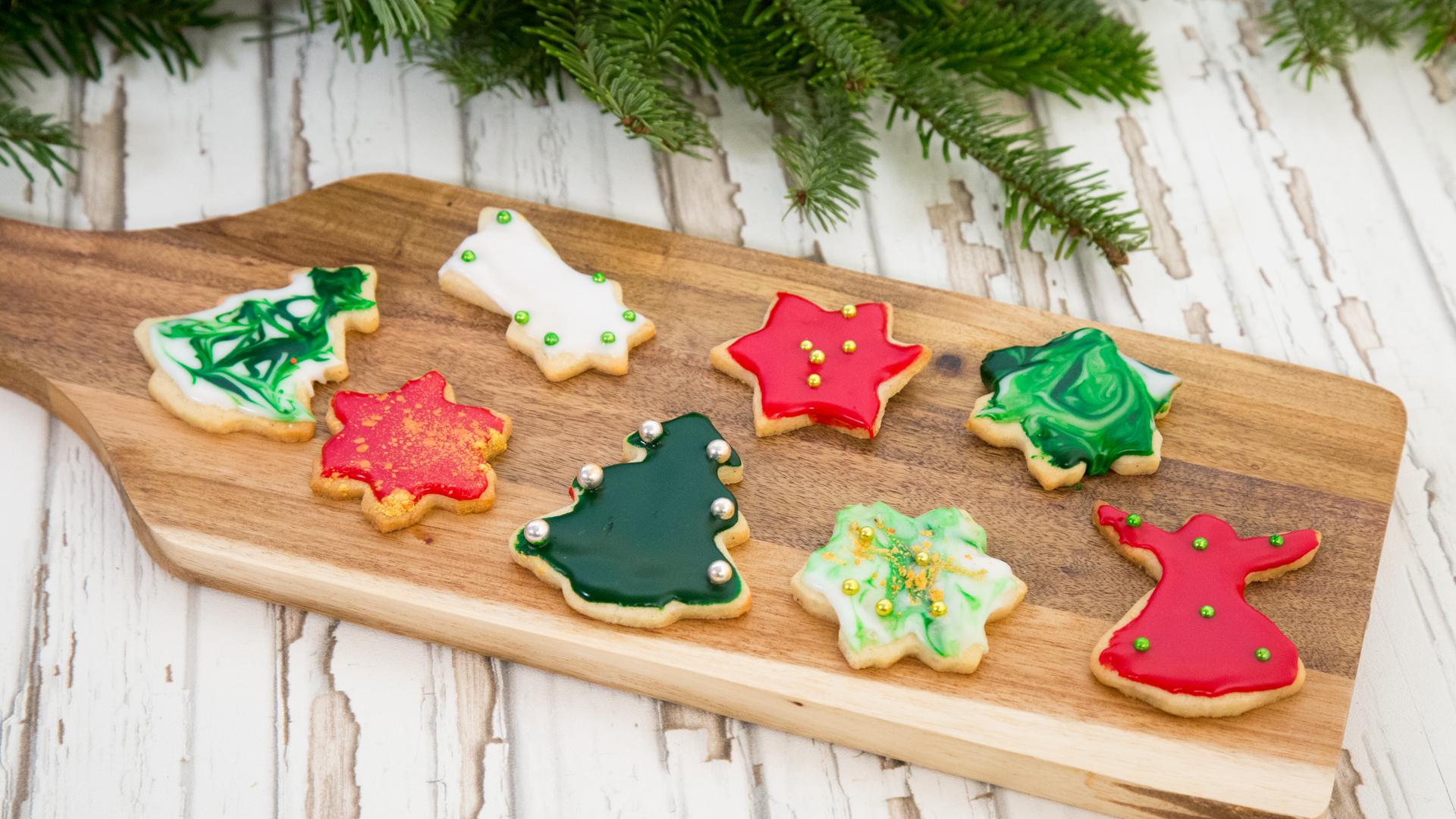 Weihnachtsplätzchen Teig Zum Ausstechen.Weihnachtsplätzchen Zum Ausstechen